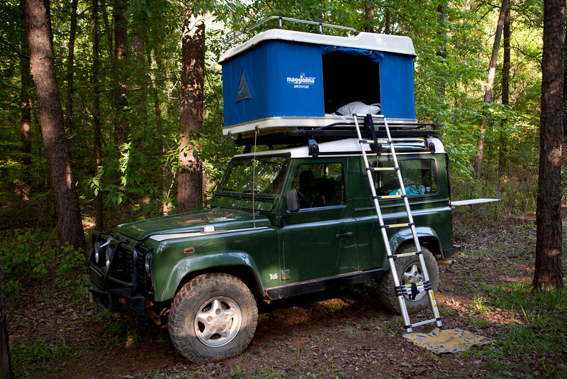 All the bedding stays in the tent which frees up more room inside the truck too. & Roof Top tents?
